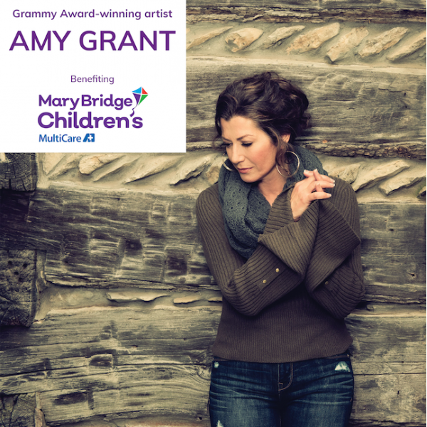 *Amy Grant Benefit for Mary Bridge Sat Dec 5 8pm PT - MultiCare